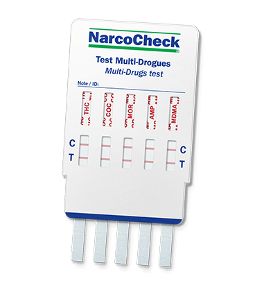 Test urinaire Multi-Drogues